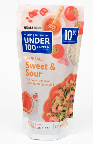 Sweet and Sour Woksaus 230gr