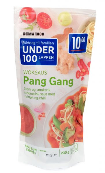 Pang Gang Woksaus 230gr
