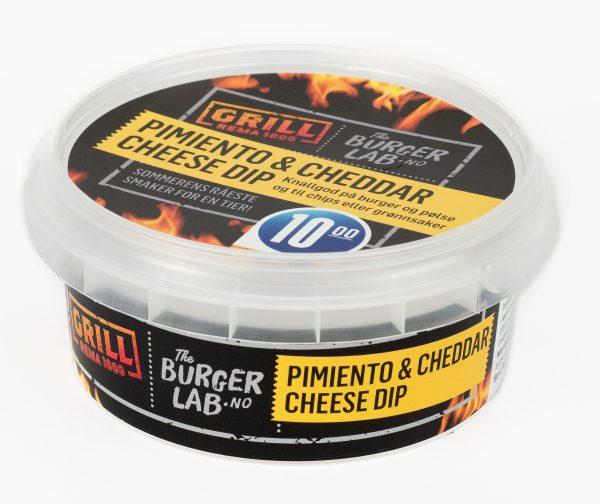 Pimiento & Cheddar dip 140gr